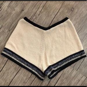 Zara Knit Mini Shorts in GUC